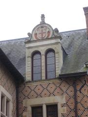 Hôtel Groslot, actuellement Hôtel de ville - Hôtel Groslot, vu depuis ses jardins, à Orléans (Loiret, France)