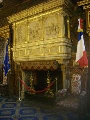 Hôtel Groslot, actuellement Hôtel de ville - Hôtel Groslot, à Orléans (Loiret, France): salon d'honneur