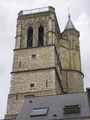 Ancien hôtel de ville ou hôtel des Crémaux, ancien Musée des Beaux-Arts et Sciences naturelles, actuellement annexe du Conservatoire municipal de musique - Tour de l'hôtel des Créneaux, à Orléans (Loiret, France)