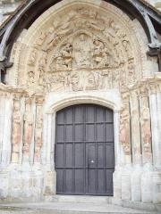 Eglise abbatiale Saint-Benoît - This building is classé au titre des monuments historiques de la France. It is indexed in the base Mérimée, a database of architectural heritage maintained by the French Ministry of Culture,under the reference PA00098999 .