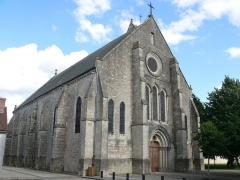 Eglise Saint-Martin et Saint-Loup - English: Saint-Loup's church of Sermaises (Loiret, Centre, France).