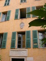 Maison de Napoléon Bonaparte - Français:   La Maison Bonaparte à Ajaccio. Facade.