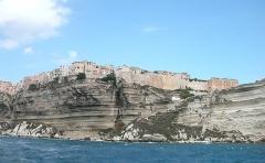 Citadelle - Français:   Citadelle vue de la mer, Bonifacio, Corse