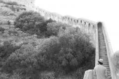 Citadelle - Français:   les remparts vus de l\'extèrieur
