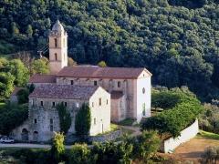 Couvent Saint-François -  Sainte-Lucie-de-Tallano, Alta Rocca (Corse) - Couvent Saint-François (désaffecté) et l'église conventuelle