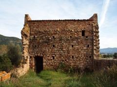 Ancienne cathédrale de Sagone ou cathédrale Saint-Appien -  Vico, Ouest Corse (Corse) - Vestiges de la cathédrale Sant' Appiano de l'ancien diocèse de Sagone