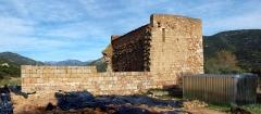 Ancienne cathédrale de Sagone ou cathédrale Saint-Appien - Español: Vico, Ouest Corse (Corse) - Ruines de la cathédrale Sant' Appiano de Sagone (XIIe siècle), objet de fouilles archéologiques.