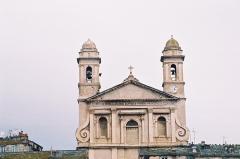Eglise Saint-Jean-Baptiste -  Church St Jean Baptiste in Bastia in Corsica