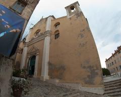 Eglise Saint-Jean-Baptiste - Français:   Eglise St-Jean-Baptiste dans la citadelle de Calvi, Haute-Corse