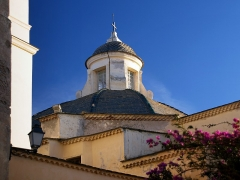 Eglise Saint-Jean-Baptiste -  Calvi, Balagne (Corse) - Lanternon de l\'église Saint-Jean-Baptiste