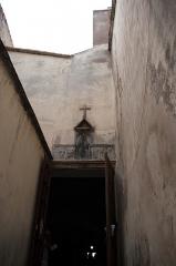 Oratoire Saint-Antoine - Français:   Entreé de l\'oratoire St Antoine dans la citadelle de Calvi, Haute-Corse