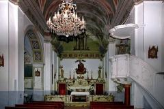 Eglise paroissiale -  Cateri, Balagne (Corse) - Intérieur de l'église paroissiale de l'Assomption