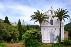 Chapelle de la Nativité, dite chapelle Notre-Dame de Lazio -  Corbara, Balagne (Corse) - Sanctuaire Notre-Dame de Latio
