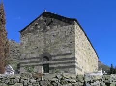 Chapelle Saint-Rainier - Français:   Lunghignano, Montegrosso (Corse) - Église San Raineru