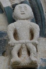 Eglise Saint-Michel - Deutsch: Kirche San Michele de Murato, Korsika - Romanische Skulptur