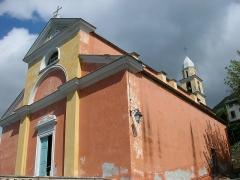 Eglise Sainte-Julie - Français:   Église de Nonza (Haute-Corse, France).