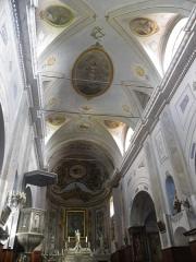 Eglise Sainte-Julie - Français:   Intérieur de l\'église de Nonza (Haute-Corse, France).