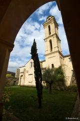 Ancien couvent de Valle d'Alesani - Français:   Piazzali, Castagniccia (Corse) - Le cloître du couvent d\'Alisgiani