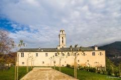 Ancien couvent de Valle d'Alesani - Français:   Piazzali, Castagniccia (Corse] - Vue du couvent depuis le chemin d\'accès