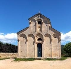 Eglise Sainte-Marie (ancienne cathédrale de Nebbio) -  Saint-Florent, Nebbio (Corse) - Église Sainte-Marie (ancienne cathédrale de Nebbio)