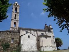 Eglise paroissiale San Nicolao - Français:   Facade Sud de l\'église du XVIIème siècle.