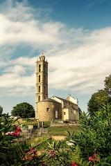 Eglise paroissiale San Nicolao - Français:   L\'église paroissiale de San-Nicolao, Haute-Corse