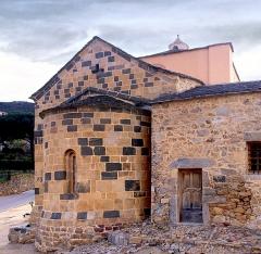 Eglise -  Santa-Reparata-di-Balagna (Corsica) - Abside (IXe s.) de l'église Sainte-Réparate