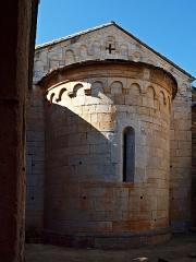 Ancien couvent Saint-Joseph -  Santo-Pietro-di-Tenda (Corsica) - Chevet de l'église conventuelle Saint-Joseph désaffectée.