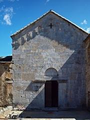 Ancien couvent Saint-Joseph -  Santo-Pietro-di-Tenda (Corsica) - Église conventuelle Saint-Joseph du XIIe siècle, désaffectée, classée monument historique