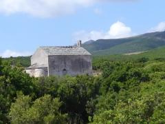 Eglise Santa-Maria-della-Chiappella -  Cap Corse - Santa Maria chapel & windmills
