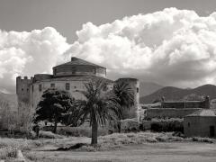 Citadelle -  Saint-Florent, Nebbio (Corse) - La citadelle qui fut génoise, aragonaise, française, anglo-corse, italienne et corse.