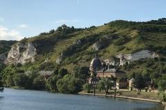 Hospice Saint-Jacques - English: Saint-Jacques Hospital in Les Andelys along the Seine.