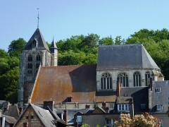 Eglise Saint-Nicolas - English: Beaumont-le-Roger (Eure, Fr) église Saint-Nicolas