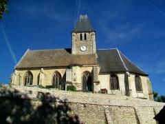 Eglise - Français:   L\'église Saint-Ouen, façade sud.