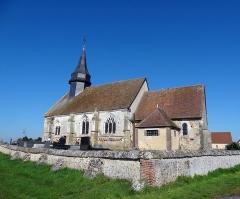 Eglise - Français:   Église Notre-Dame à Dame-Marie (Eure), XIIe siècle.