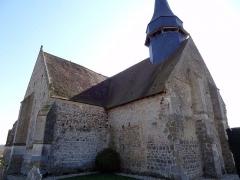 Eglise - Français:   Eglise de Dame-Marie, XIIe siècle.