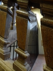 Couvent des Capucins - Escalier d'honneur de l'ancien couvent des Capucins d'Évreux.