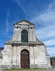 Ancienne abbaye Saint-Taurin - Français:   Église Saint-Taurin d\'Évreux, façade mauriste du XVIIIe siècle.