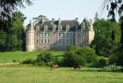 Château de Chambray - English: Facade Nord du Chateau de Chambray - Gouville - Eure (27)