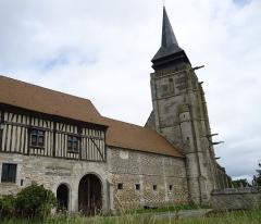 Manoir-ferme - Français:   Le Mesnil-Jourdan, église Notre-Dame XVe (MH)