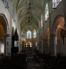 Eglise Saint-Martin -  Église Saint-Martin de Nonancourt: la nef
