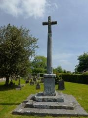 Croix de cimetière - English: Notre-Dame d'Épine (Eure, Fr) croix de cimetière recto
