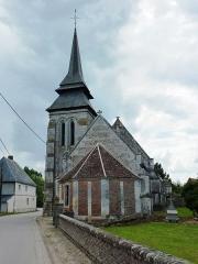 Eglise du Plessis - English: Le Plessis-Sainte-Opportune (Eure, Fr) église Saint-André du Plessis