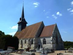Eglise Saint-Nicolas - English: Sébécourt (Eure, Fr) église Saint-Nicolas