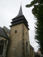 Eglise - This building is classé au titre des monuments historiques de la France. It is indexed in the base Mérimée, a database of architectural heritage maintained by the French Ministry of Culture,under the reference PA00099587 .