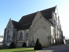 Ancienne église Saint-Laurent - Français:   Église Saint-Laurent à Verneuil-sur-Avre (27).