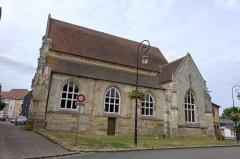 Ancienne église Saint-Laurent - Français:   Église Saint-Laurent de Verneuil-sur-Avre, Eure, France