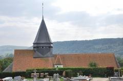 Ancien château de Vernonnet, dit Château des Tourelles - English: Église Sainte-Radegonde de Giverny (Eure, 27)