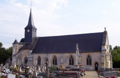 Ancienne abbaye Notre-Dame - English: Abbeychurch Notre-Dame in Corneville-sur-Risle, departement Eure, Haute-Normandie, France. It was built in the 12th century.
