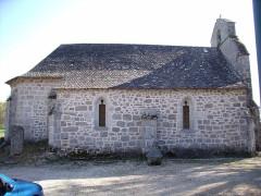 Eglise Saint-Pierre -  Alleyrat eglise nord